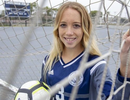 Daily Pilot: High School Female Athlete of the Week: 'Peanut' playing big for Newport Harbor girls' soccer